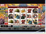 výherní automaty Captain America CryptoLogic