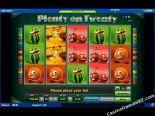výherní automaty Plenty on Twenty Novomatic